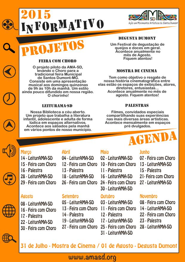 Informativo - Calendário Anual 2015